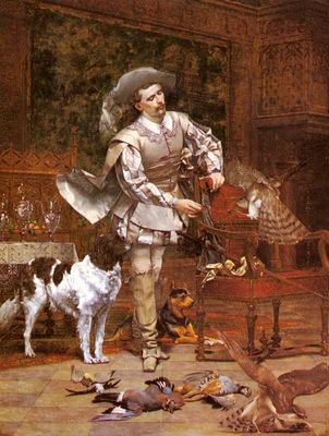 Viry Paul Alphonse The Falconer