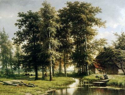Vogel de Cornelis Johannes Summerlandscape 000Sun