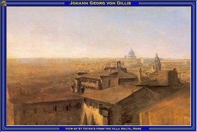 PO Vp S2 08 VonDillis View of StPeters from the villa Malta