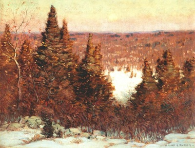 voorhees december moonrise c1908