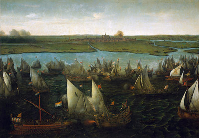 Vroom Hendrick Battle on the Haarlemmermeer Sun