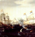 vroom skirmish betweeen dutch and english warships