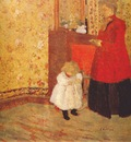 vuillard mother and child c1900