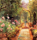 Walbourn Ernest The garden path Sun