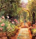 Walbourn Ernest The garden path Sun