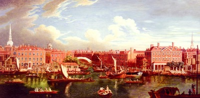Wale Samuel View Of The Thames At The Joining Of The River Fleet