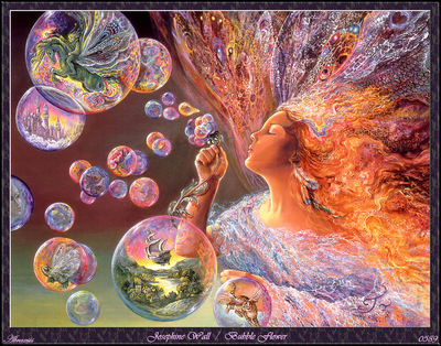Josephine Wall Bubble Flower Abraxsis