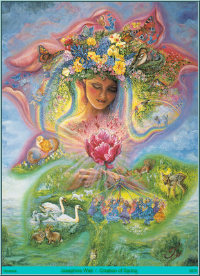 Josephine Wall Creation Of Spring Abraxsis
