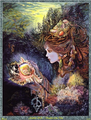 Josephine Wall Daughter Of The Deep Abraxsis