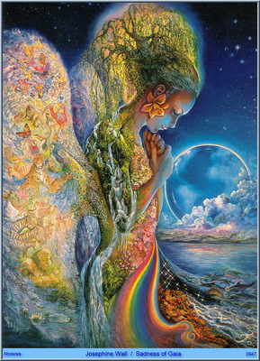 Josephine Wall Sadness Of Gaia Abraxsis