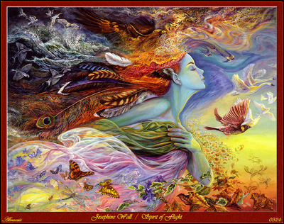 Josephine Wall Spirits Of Flight Abraxsis