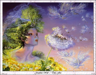 Josephine Wall Time Flies Abraxsis