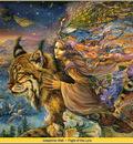 Josephine Wall Flight Of The Lynx Abraxsis