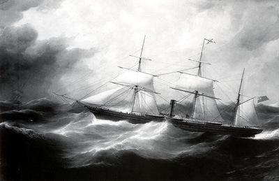 MPA Samuel Walters S S Australian, 1862 sqs
