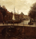 Waning Cornelis Antoni Van A View Of Het Zieken The Hague
