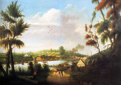 Watling Thomas A Direct North General View Of Sydney Cove