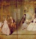 Watteau Geraints shopsign, 163x308 cm, Charlottenburg Palac