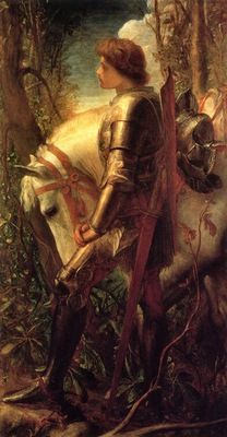 Watts, George Frederick Sir Galahad end