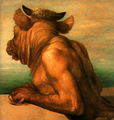 ger GeorgeFrederickWatts Minotaur
