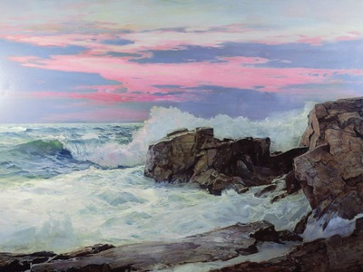 close of day, frederick judd waugh 1600x1200 id