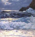 waugh breakers at floodtide