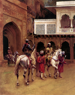 Weeks Edwin Indian Prince Palace Of Agra