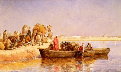 Weeks Edwin Lord Along The Nile