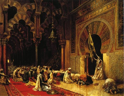 Weeks Edwin Lord Interior of the Mosque at Cordova