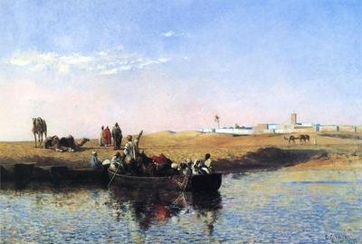 Weeks Edwin Lord Scene at Sale Morocco