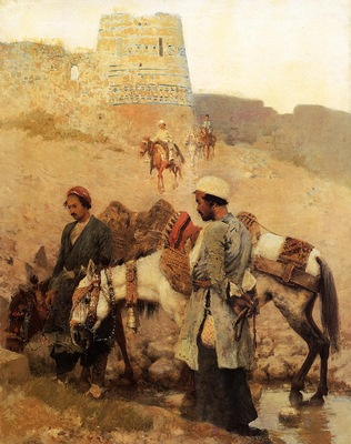 Weeks Edwin Lord Traveling in Persia