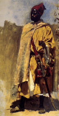 Weeks Edwin Moorish Guard