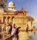 Weeks Edwin Along The Ghats Mathura