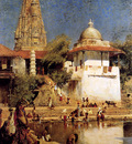 Weeks Edwin The Temple And Tank Of Walkeshwar At Bombay