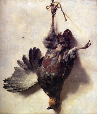 Weenix Jan Baptist Dead partridge Sun