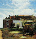 Weissenbruch Jan Farm beside canal in polder Sun