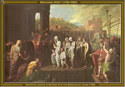 benjamin west agrippine landing in brindisi 1768 po amp