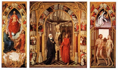 Triptych of the redemption EUR