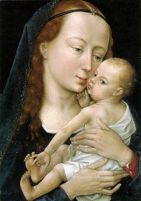 Virgin and child EUR