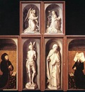 The Last Judgment Polyptych reverse side WGA