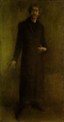 Whistler Brown and gold, 1895 1900, 95 8x51 5 cm, Hunterian