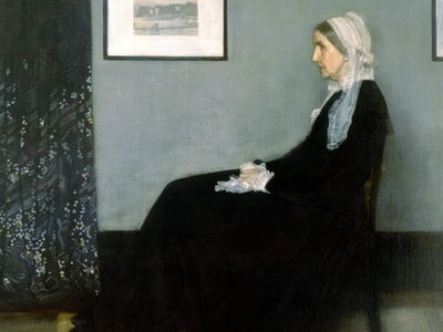 Whistlers Mother, James Abbott McNeill Whistler 1600x1200