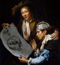 Wijckersloot van Jan Allegory on disaster year Sun
