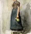 Wijsmuller Jan Hildebrand Woman with a can Sun