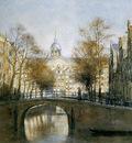 Wijsmuller Jan The Warmoe canal Sun
