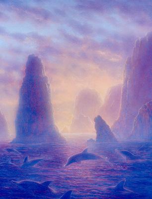 kb Williams Gilbert Dolphin Dawn