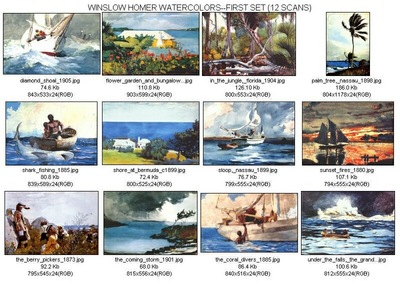 thumbnails homer watercolors1