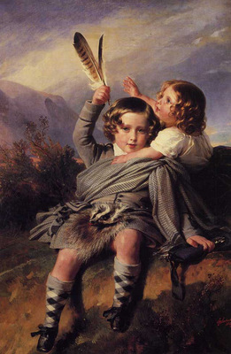 winterhalter franz xavier prince alfred and princess helena
