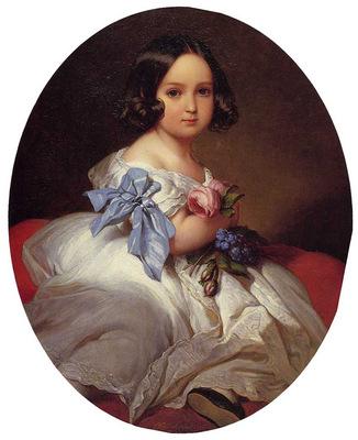 Winterhalter Franz Xavier Princess Charlotte of Belgium