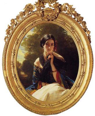 Winterhalter Franz Xavier Princess Leonilla of Sayn Wittgenstein Sayn