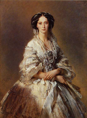 winterhalter franz xavier the empress maria alexandrovna of russia